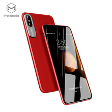 360 degree full cover beautiful red hard shockproof case,for iphoneX case, for iphone X case