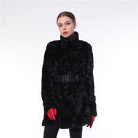 High Quality Reasonable Price Comfortable Eco-friendly Ladies Winter Long Fur Coat