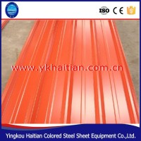 China Colorful PPGI Metal corrugated prepainted Roof steel plate