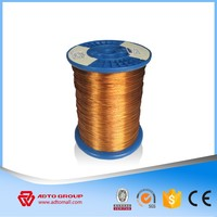 High temperature resistance barbed copper enameled wire