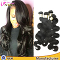 XBL no tangle no shed wholesale virgin human Brazilian body wave hair