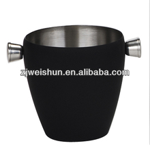 ice cream maker wood/s/s bucket