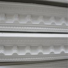 Environmental Fireproof White Gypsum Cornices