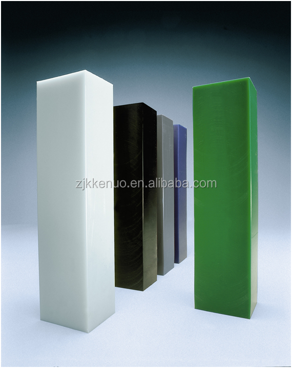 China plastic Engineering industry uhmwpe sheet material and rod manufacture