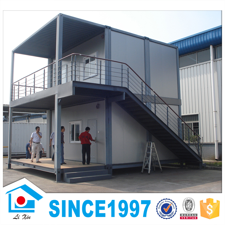 Two Storey Light Steel Structure Prefabricated Office Container