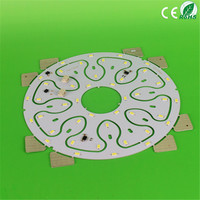 Round smd5730 led pcb module double 12W for ceiling lamp