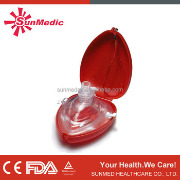 Emergency mask, Pockets CPR mask, CPR life key chain, heart shape box, heart shape emergency mask