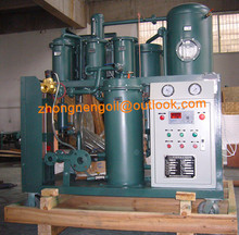 Natural Heating System Vacuum Lube Oil Processing Machine/ Gear Oil Treated Solutions
