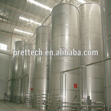 stainless steel dry white wine fermentation tank for hot sale