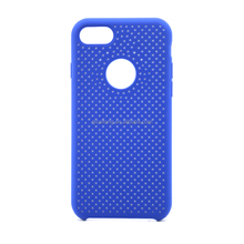China Mobile Phone Accesories New Fashion Dots Lines Liquid Silicone Case for iphone 7