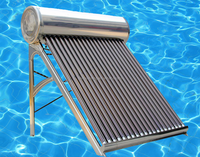 Hot Sell Solar Storm 200L Compact Solar Alpha Water Heater, Immersion Water Heater with CE