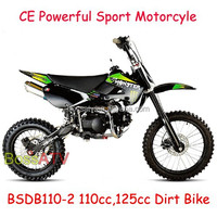 Gas Powered 17 14 Inch Wheel 110CC 125CC Dirt Bike Pit Bike Sport Motorcycle