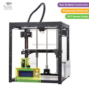 2017 New Upgraded All Metal High Quality Precision Structure Black P905 DIY 3d Printer