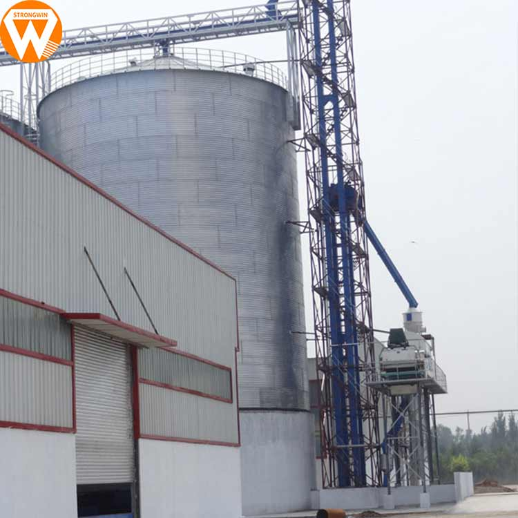More available space Stainless steel storage grain silo poultry feed silo for sale