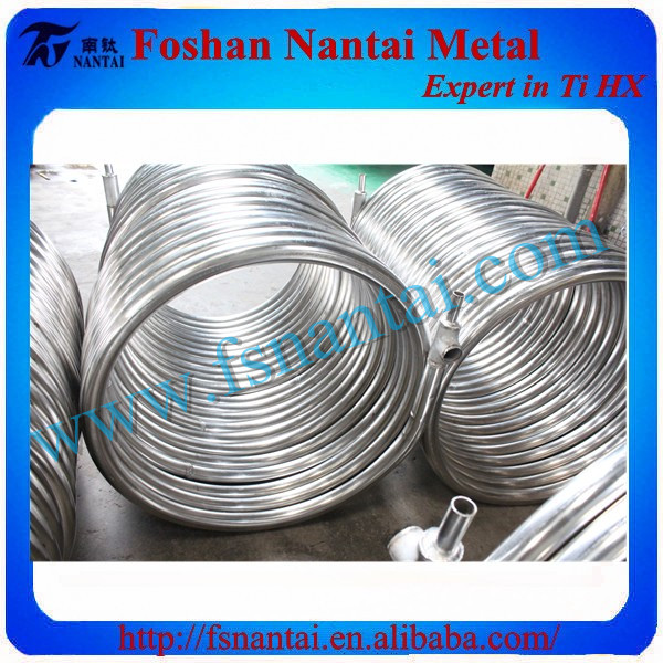 Manufacturing Korea Stainless Steel Cooling Coil Tube