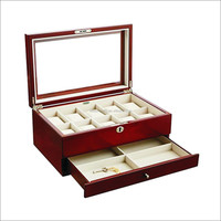wholesale luxury safe used wooden jewellery storage gift boxwooden watch boxes wooden gift box