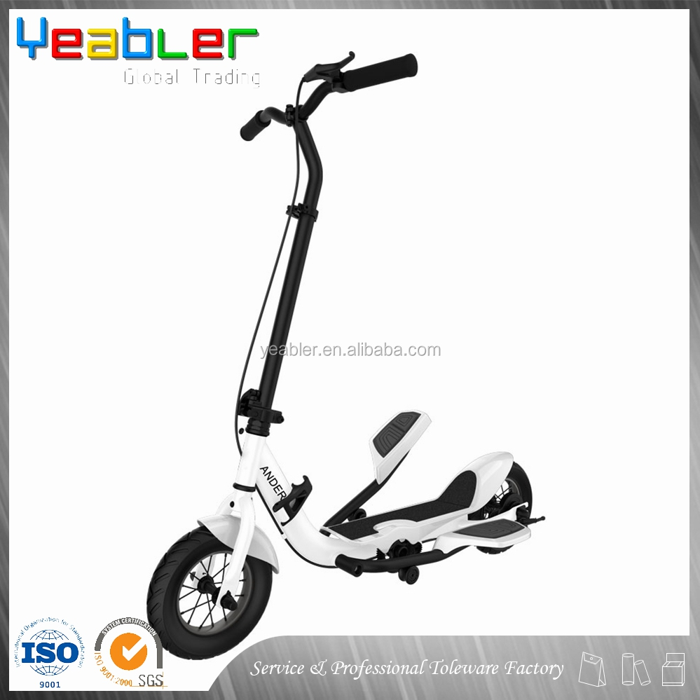 New products zike z150 elliptical luggage scooter for sale
