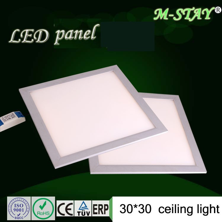 factory sale 1ft x 1ft led flat panel wall light12w phase indicator