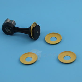 Modified PTFE gasket disk filled PI/carbon/bronze for air compressor pneumatic pump anti-abrasion