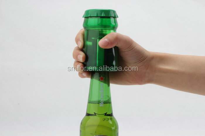 Wholesale New Shape Aluminum Automatic Push Down Bottle Opener Insert