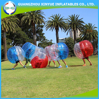 Fashionable sport bumper ball/human bubble ball/football bubble suit