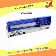 Battery operated laser sword toy with light