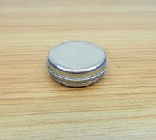 Rust Resistant Screw Top Round Steel Tin Can Mint Tin Box