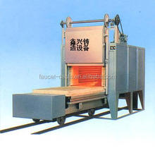 RT2-180-9 Whole Fiber Trolley electric resistance furnace heat treatment furnace