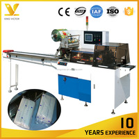 Wet tissue Automatic Wet Paper Towel Flow Packing Machinery