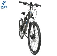 Enwe New Model Full Suspension 48V Lithium Battery Electric Bike / 500w Big Power Electric Bicycle / Mountain E Bike