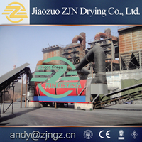 cow manure processing rotary dryer