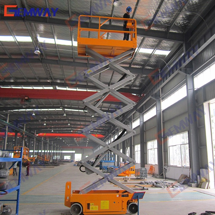 10m mobile hydraulic lifting equipment for painting