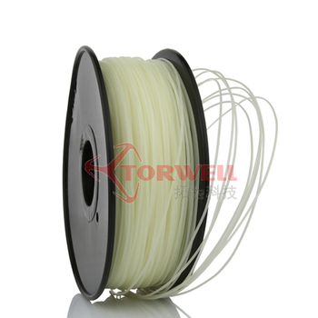 Plastic for 3D Printer Filament Colored 1.75mm PLA RoHS Certificated