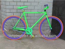 700c Mixed color adult chopper fixed gear bike