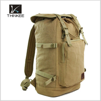 custom canvas knapsacks mens camping backpacks outdoor hiking backpack