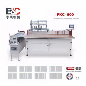 PKC-800 Semi-auto book case making Machine/Book Hard cover/Album Cover maker