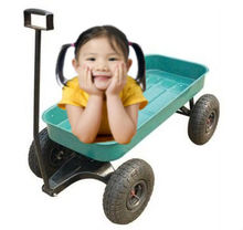 Children Kids Tool Cart,Garden Wagon with 3.50-4 pneumatic wheel/children dolly