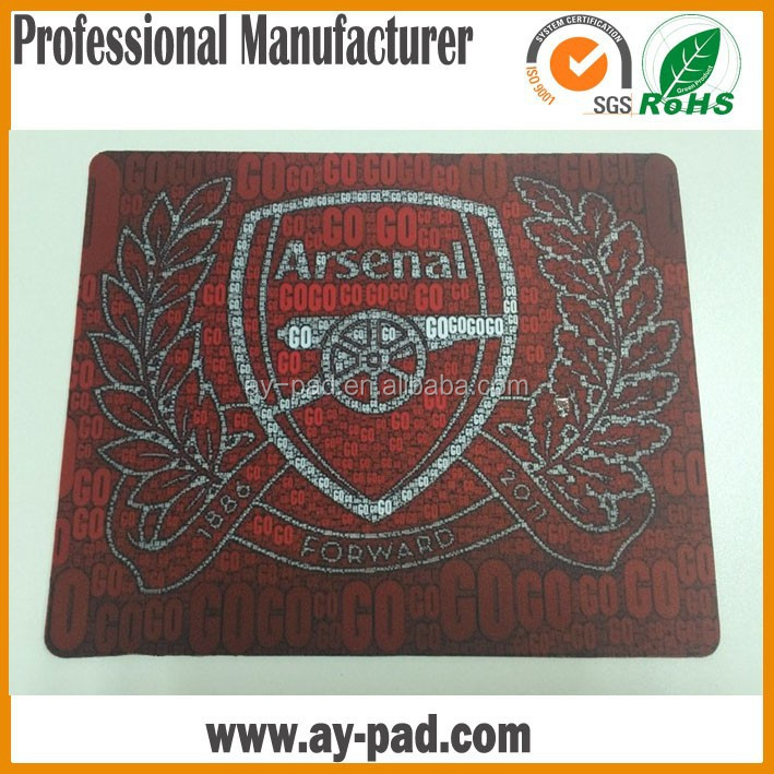 AY OEM Designs Heat Transfer Printing Sticker Mouse Pad Optical Mouse Mat Natural Ruber Mouse Mat