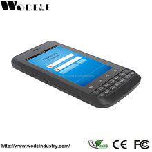 mobile phone PDA rugged android hf rfid handheld reader tablet with sim card, Wi-Fi, GSM,GPRS,4G,Bluetooth