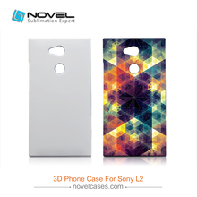 Mobile Phone Bag For Sony Xperia L2 Sublimation 3D Blank Cover Case