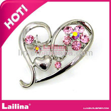 Gorgeous Jewelry Heart Rhinestone Brooches