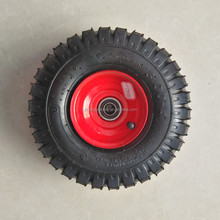 3.00-4 Off-Road Pneumatic inflatable rubber wheel
