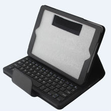 Removable Bluetooth Keyboard with USB port and PU Leather Case for iPad Air iPad 5