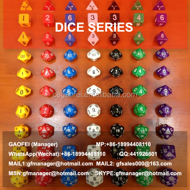 2015 hot sell wooden dice for promotion using