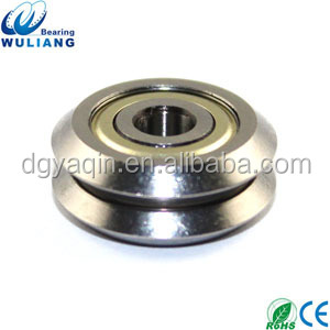 4.763x19.56x4.87mm stainless steel v roller rail for mixing valve
