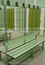 Commercial Furniture Hpl changing room bathroom bench