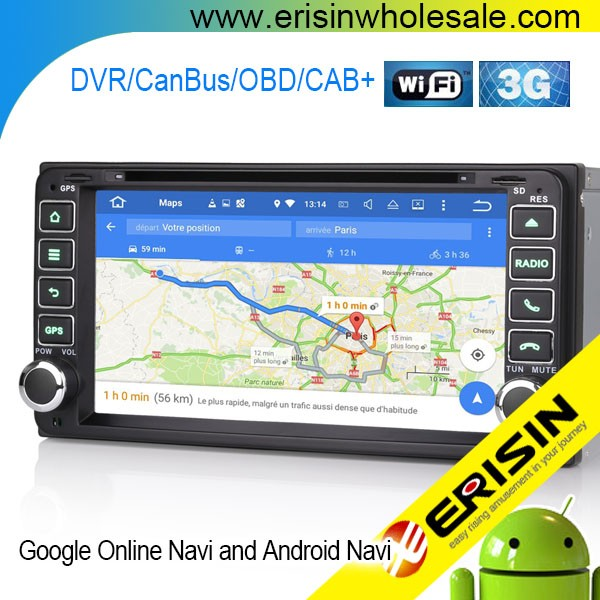 "Erisin ES6603F 6.95"" Toyota Avensis Car DVD Player 3G Radio GPS System"