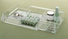 LY-4922 Luxury Clear Acrylic Cosmetic Display,top grade Cosmetic Box,Acrylic Cosmetic Holder