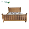 Hot sale Nordic style simple modern 1.5M single wood bed