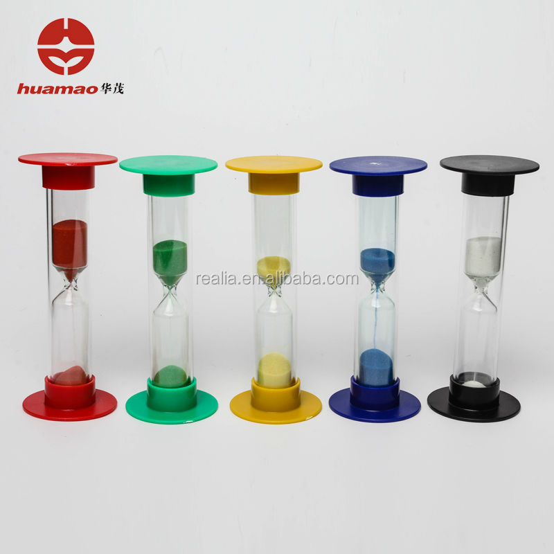Teachers Timer Set sand clock,1min,5min,2 min,4min,sandglass brushing holder plastic minute sand timer/hourglass